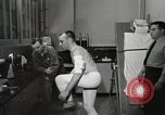 Image of NASA testing Hal Crandall for fitness Ohio United States USA, 1959, second 28 stock footage video 65675023415