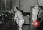 Image of NASA testing Hal Crandall for fitness Ohio United States USA, 1959, second 31 stock footage video 65675023415