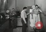 Image of NASA testing Hal Crandall for fitness Ohio United States USA, 1959, second 37 stock footage video 65675023415