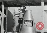 Image of German V 2 Rocket New Mexico United States USA, 1946, second 54 stock footage video 65675023445