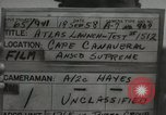 Image of Atlas Missile 6 B Cape Canaveral Florida USA, 1958, second 3 stock footage video 65675023457