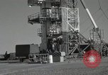 Image of Redstone Missile at White Sands Range New Mexico United States USA, 1960, second 15 stock footage video 65675023463