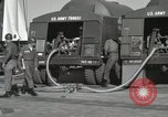 Image of Redstone Missile being fueled from trucks New Mexico United States USA, 1960, second 23 stock footage video 65675023466