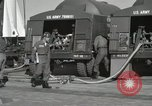 Image of Redstone Missile being fueled from trucks New Mexico United States USA, 1960, second 24 stock footage video 65675023466