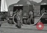 Image of Redstone Missile being fueled from trucks New Mexico United States USA, 1960, second 25 stock footage video 65675023466