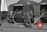 Image of Redstone Missile being fueled from trucks New Mexico United States USA, 1960, second 26 stock footage video 65675023466