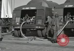 Image of Redstone Missile being fueled from trucks New Mexico United States USA, 1960, second 27 stock footage video 65675023466