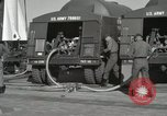 Image of Redstone Missile being fueled from trucks New Mexico United States USA, 1960, second 28 stock footage video 65675023466