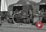 Image of Redstone Missile being fueled from trucks New Mexico United States USA, 1960, second 29 stock footage video 65675023466