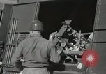 Image of Redstone Missile being fueled from trucks New Mexico United States USA, 1960, second 30 stock footage video 65675023466