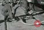 Image of Redstone Missile being fueled from trucks New Mexico United States USA, 1960, second 35 stock footage video 65675023466