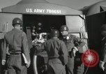 Image of Redstone Missile being fueled from trucks New Mexico United States USA, 1960, second 46 stock footage video 65675023466