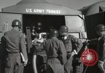 Image of Redstone Missile being fueled from trucks New Mexico United States USA, 1960, second 48 stock footage video 65675023466