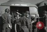 Image of Redstone Missile being fueled from trucks New Mexico United States USA, 1960, second 49 stock footage video 65675023466