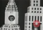 Image of architects dressed as buildings New York City USA, 1931, second 12 stock footage video 65675023621