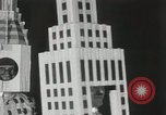 Image of architects dressed as buildings New York City USA, 1931, second 14 stock footage video 65675023621