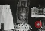 Image of architects dressed as buildings New York City USA, 1931, second 24 stock footage video 65675023621
