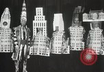 Image of architects dressed as buildings New York City USA, 1931, second 32 stock footage video 65675023621