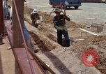 Image of construction Vietnam, 1966, second 44 stock footage video 65675024990