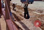 Image of construction Vietnam, 1966, second 50 stock footage video 65675024990