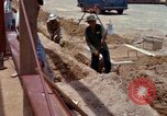 Image of construction Vietnam, 1966, second 55 stock footage video 65675024990