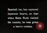 Image of Baseball in Japan Japan, 1934, second 15 stock footage video 65675025129