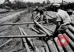 Image of Construction of India-Burma-China Pipeline Calcutta India, 1944, second 19 stock footage video 65675025200