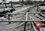 Image of Construction of India-Burma-China Pipeline Calcutta India, 1944, second 21 stock footage video 65675025200
