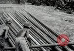 Image of Construction of India-Burma-China Pipeline Calcutta India, 1944, second 30 stock footage video 65675025200