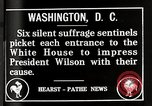 Image of Women suffragettes Washington DC USA, 1917, second 2 stock footage video 65675025352