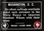 Image of Women suffragettes Washington DC USA, 1917, second 4 stock footage video 65675025352