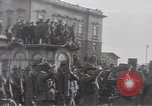 Image of Gabriele D'Annunzio leads force of volunteers Fiume Croatia, 1919, second 14 stock footage video 65675025861