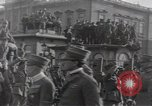 Image of Gabriele D'Annunzio leads force of volunteers Fiume Croatia, 1919, second 17 stock footage video 65675025861