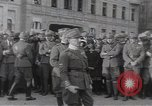 Image of Gabriele D'Annunzio leads force of volunteers Fiume Croatia, 1919, second 18 stock footage video 65675025861