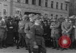 Image of Gabriele D'Annunzio leads force of volunteers Fiume Croatia, 1919, second 19 stock footage video 65675025861