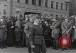 Image of Gabriele D'Annunzio leads force of volunteers Fiume Croatia, 1919, second 20 stock footage video 65675025861