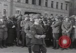Image of Gabriele D'Annunzio leads force of volunteers Fiume Croatia, 1919, second 21 stock footage video 65675025861