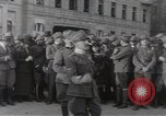 Image of Gabriele D'Annunzio leads force of volunteers Fiume Croatia, 1919, second 22 stock footage video 65675025861