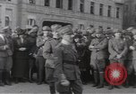 Image of Gabriele D'Annunzio leads force of volunteers Fiume Croatia, 1919, second 23 stock footage video 65675025861
