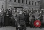Image of Gabriele D'Annunzio leads force of volunteers Fiume Croatia, 1919, second 24 stock footage video 65675025861