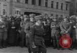 Image of Gabriele D'Annunzio leads force of volunteers Fiume Croatia, 1919, second 25 stock footage video 65675025861