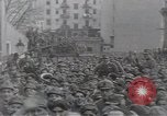 Image of Gabriele D'Annunzio leads force of volunteers Fiume Croatia, 1919, second 26 stock footage video 65675025861