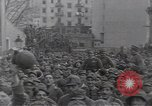 Image of Gabriele D'Annunzio leads force of volunteers Fiume Croatia, 1919, second 27 stock footage video 65675025861