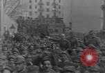 Image of Gabriele D'Annunzio leads force of volunteers Fiume Croatia, 1919, second 28 stock footage video 65675025861