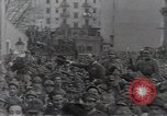 Image of Gabriele D'Annunzio leads force of volunteers Fiume Croatia, 1919, second 29 stock footage video 65675025861