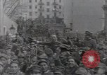 Image of Gabriele D'Annunzio leads force of volunteers Fiume Croatia, 1919, second 30 stock footage video 65675025861