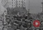 Image of Gabriele D'Annunzio leads force of volunteers Fiume Croatia, 1919, second 31 stock footage video 65675025861