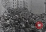 Image of Gabriele D'Annunzio leads force of volunteers Fiume Croatia, 1919, second 32 stock footage video 65675025861