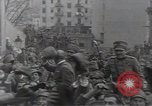 Image of Gabriele D'Annunzio leads force of volunteers Fiume Croatia, 1919, second 34 stock footage video 65675025861