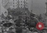 Image of Gabriele D'Annunzio leads force of volunteers Fiume Croatia, 1919, second 35 stock footage video 65675025861